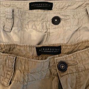 Bundle of 2 men's cargo shorts (khaki)